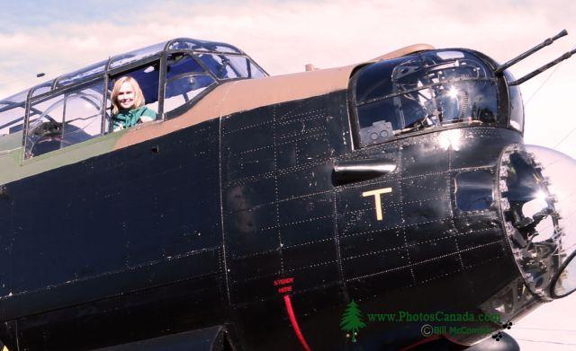 Lancaster Bomber, Bomber Command Museum of Canada, Nanton, Alberta, Canada CMX-002