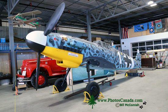 Messershmitt Bf Replica, Bomber Command Museum of Canada, Nanton, Alberta, Canada CMX-008