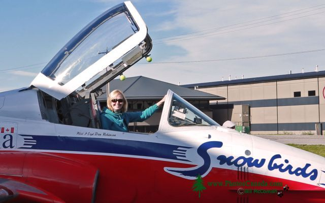 Snowbird Tutor Jet, Bomber Command Museum of Canada, Nanton, Alberta, Canada CMX-005