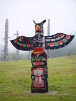Namgis Burial Grounds, Alert Bay, Hazelton, British Columbia, Canada 03