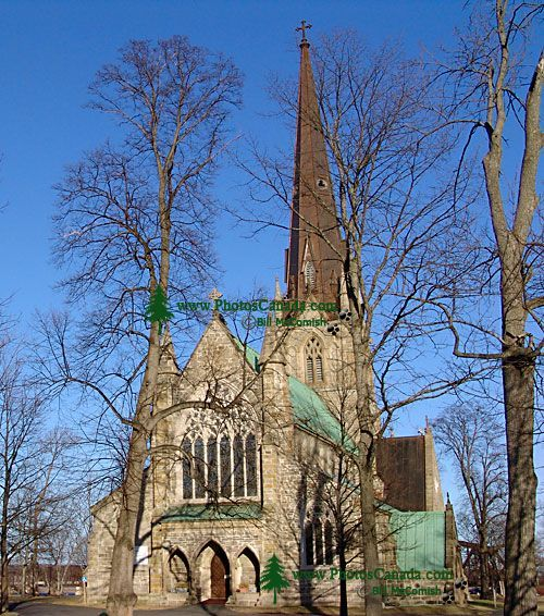 Christ Church Cathedral, Fredericton, New Brunswick, Canada, 02