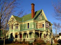 Historic Fredericton Home, New Brunswick, Canada  04