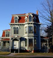 Historic Fredericton Home, New Brunswick, Canada  03