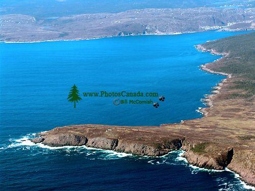 Aerial Newfoundland Coast, North Atlantic,  Canada 11