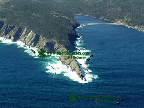 Aerial Newfoundland Coast, North Atlantic,  Canada 14