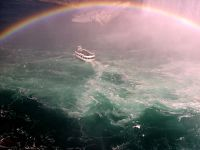 Rainbow over Horseshoe Falls, Ontario, Canada   07