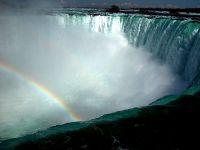 Rainbow over Horseshoe Falls, Ontario, Canada   05