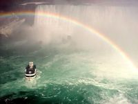 Rainbow over Horseshoe Falls, Ontario, Canada   06