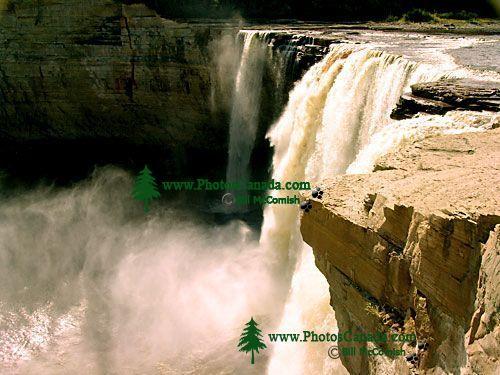 Alexandra Falls, Twin Falls Gorge Territorial Park, Northwest Territories, Canada 27