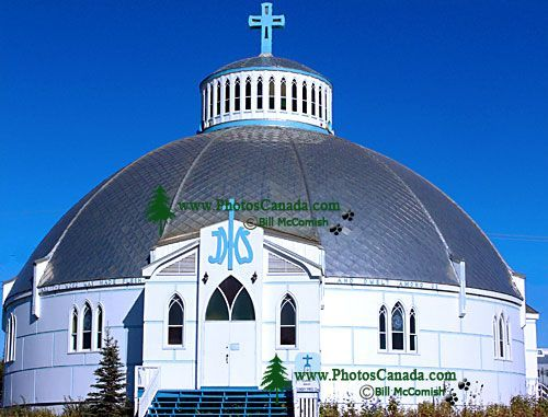 Inuvik, Igloo Church, Northwest Territories, Canada 05