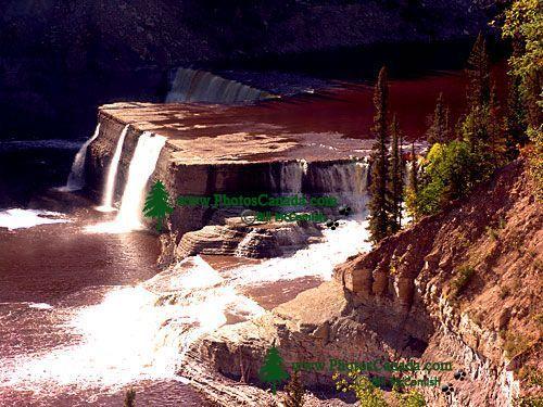 Louise Falls, Twin Falls Gorge Territorial Park, Northwest Territories, Canada 25