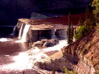 Louise Falls, Twin Falls Gorge Territorial Park, Northwest Territories, Canada 25