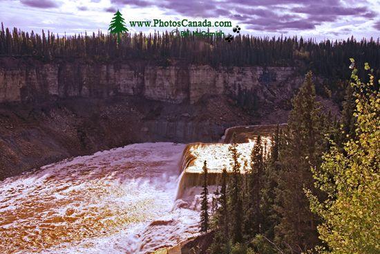 Louise Falls, Northwest Territories, Canada CM11-31