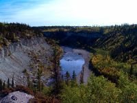 Twin Gorge Falls, Northwest Territories, Canada 28