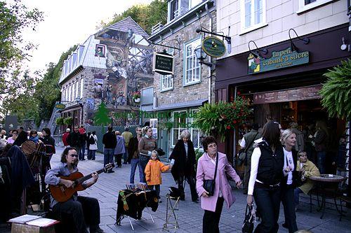 Old Town Quebec 2007, Quebec, Canada CM11-09