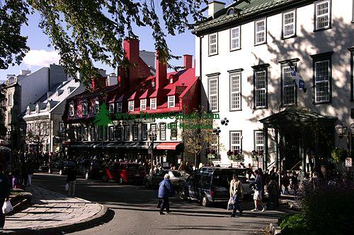 Old Town Quebec 2007, Quebec, Canada CM11-02
