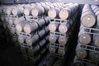 Wine Aging in Oak Barrels, British Columbia CM11-005