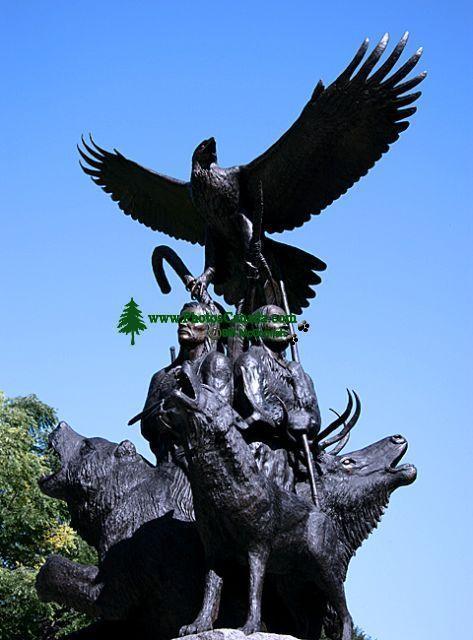 Aboriginal Soldiers Monument, Ottawa, Ontario, Canada CM11-07