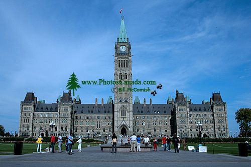 Parliament Buildings, Ottawa, Ontario, Canada CM11-04