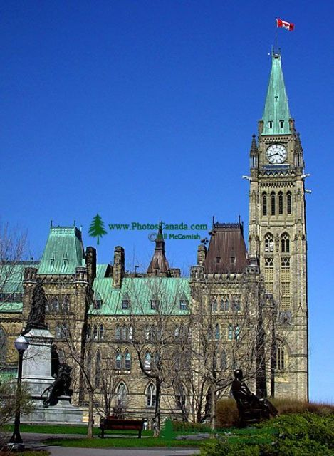 Parliament Buildings, Ottawa, Ontario, Canada  02  (Image not for sale)