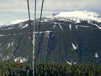 Peak 2 Peak Gondola Whistler, British Columbia, Canada CM11-01
