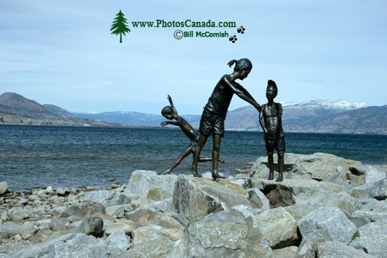 Penticton, Okanagan Lake Waterfront, British Columbia, Canada CM11-002