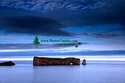 Perce Rock, Gaspe Peninsula, Quebec, Canada CM11-01