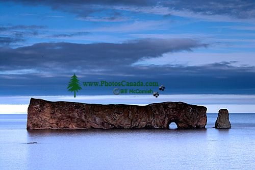 Perce Rock, Gaspe Peninsula, Quebec, Canada CM11-02