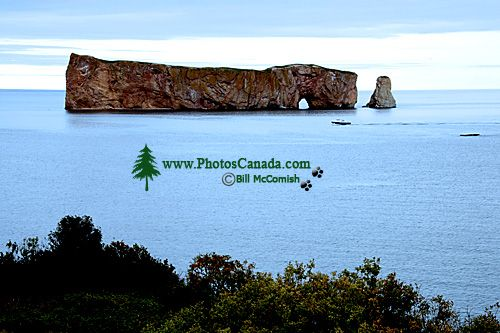 Perce Rock, Gaspe Peninsula, Quebec, Canada CM11-04