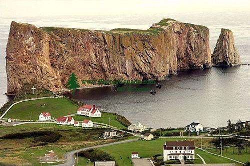 Perce Rock, Gaspe Peninsula, Quebec, Canada CM11-05