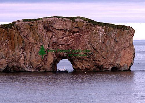 Perce Rock, Gaspe Peninsula, Quebec, Canada CM11-06