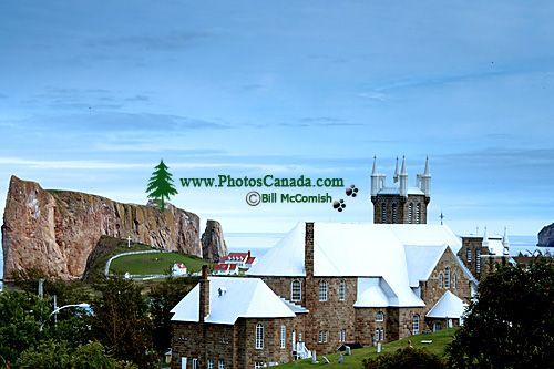 Perce Rock, Gaspe Peninsula, Quebec, Canada CM11-08