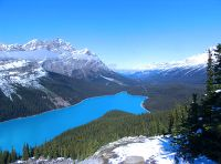 Peyto Lake, Icefields Parkway, Banff National Park, Alberta, Canada 01