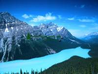 Highlight for Album: Peyto Lake Photo, Icefields Parkway Photos, Jasper National Park of Canada Photos, Alberta, Canada, Canadian Rockies, Canadian National Parks Stock Photos
