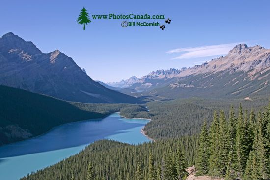 Peyto Lake, Spring 2009, Icefields Parkway, Banff National Park, Alberta, Canada CM11-08