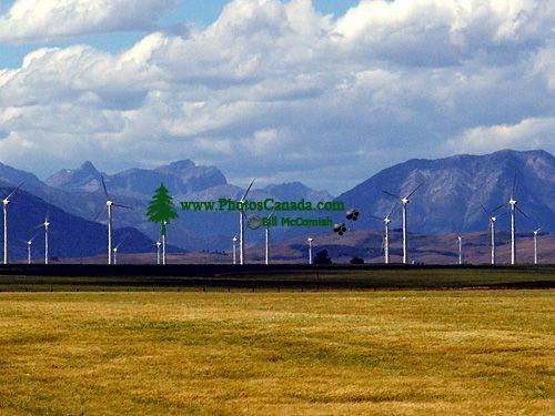 Pincher Creek, Wind Turbines, Alberta, Canada 09