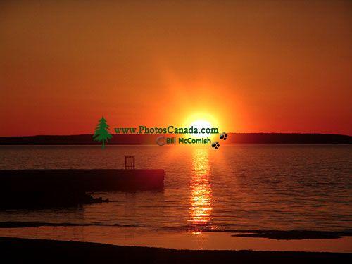 Waskesiu Lake, Sunset, Prince Albert National Park, Saskatchewan, Canada  01