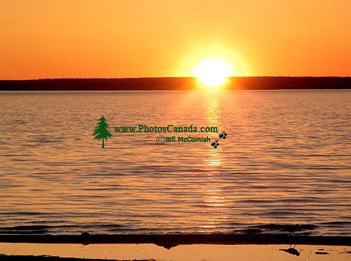 Waskesiu Lake, Sunset, Prince Albert National Park, Saskatchewan, Canada 02