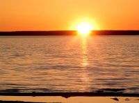Waskesiu Lake, Sunset, Prince Albert National Park, Saskatchewan, Canada 02