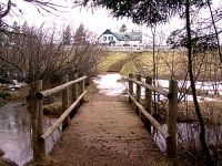 Bridge to Haunted Woods Trail at Anne of Green Gables, Cavendish, Prince Edward Island, Canada 14