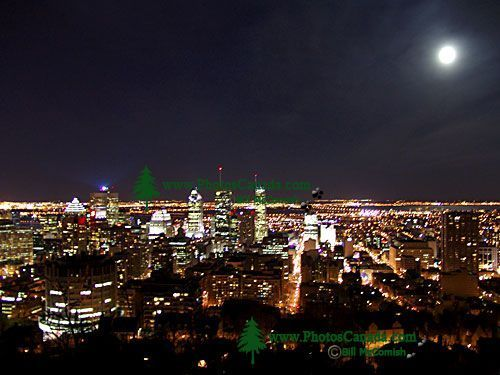 Full Moon over Montreal, Quebec, Canada 01