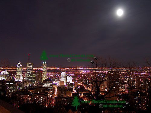 Full Moon over Montreal, Quebec, Canada 02