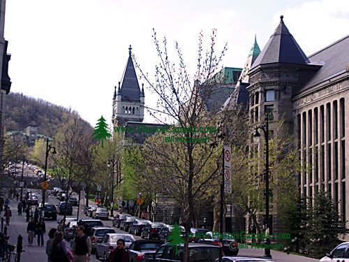 19th-century Stone Buildings on