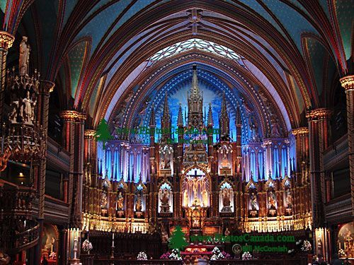 Notre-Dame of Montreal Basilica, Quebec, Canada 19