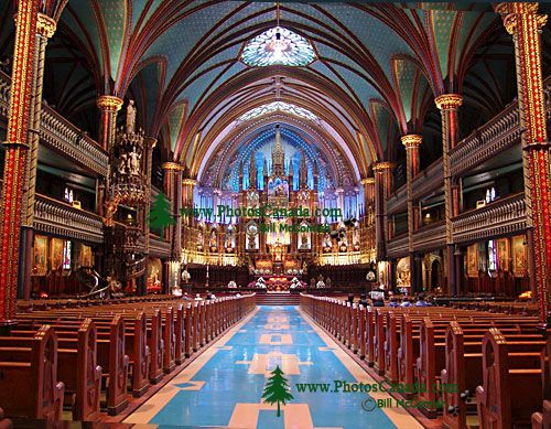 Notre-Dame of Montreal Basilica, Quebec, Canada  20
