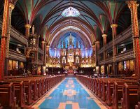 Notre-Dame of Montreal Basilica, Quebec, Canada  20 (Image not for sale)