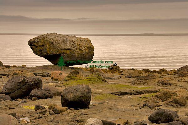 Queen Charlotte Islands Photos, Balance Rock, Haida Gwaii, British Columbia, Canada CM11-03