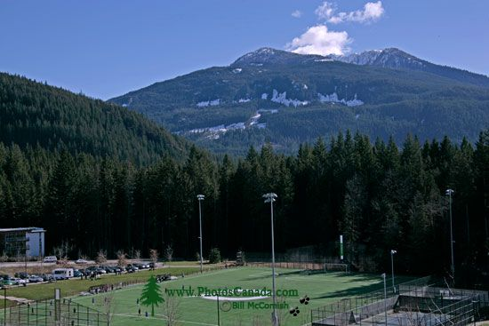 Quest University, Soccer Field, Squamish, British Columbia, Canada CM11-007