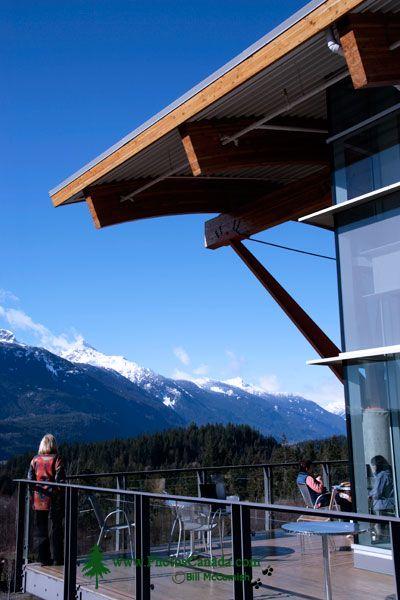 Quest University, Cafeteria Patio, Squamish, British Columbia, Canada CM11-009