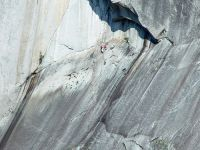 Rock Climbers, The Grand Wall, Stawamus Chief, Squamish, British Columbia, Canada 02